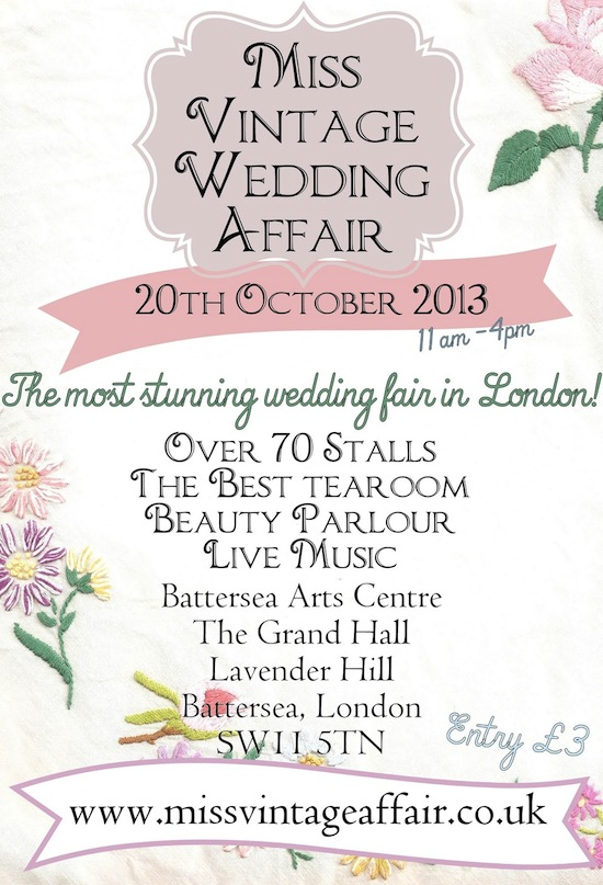 Vintage Wedding Fair in London